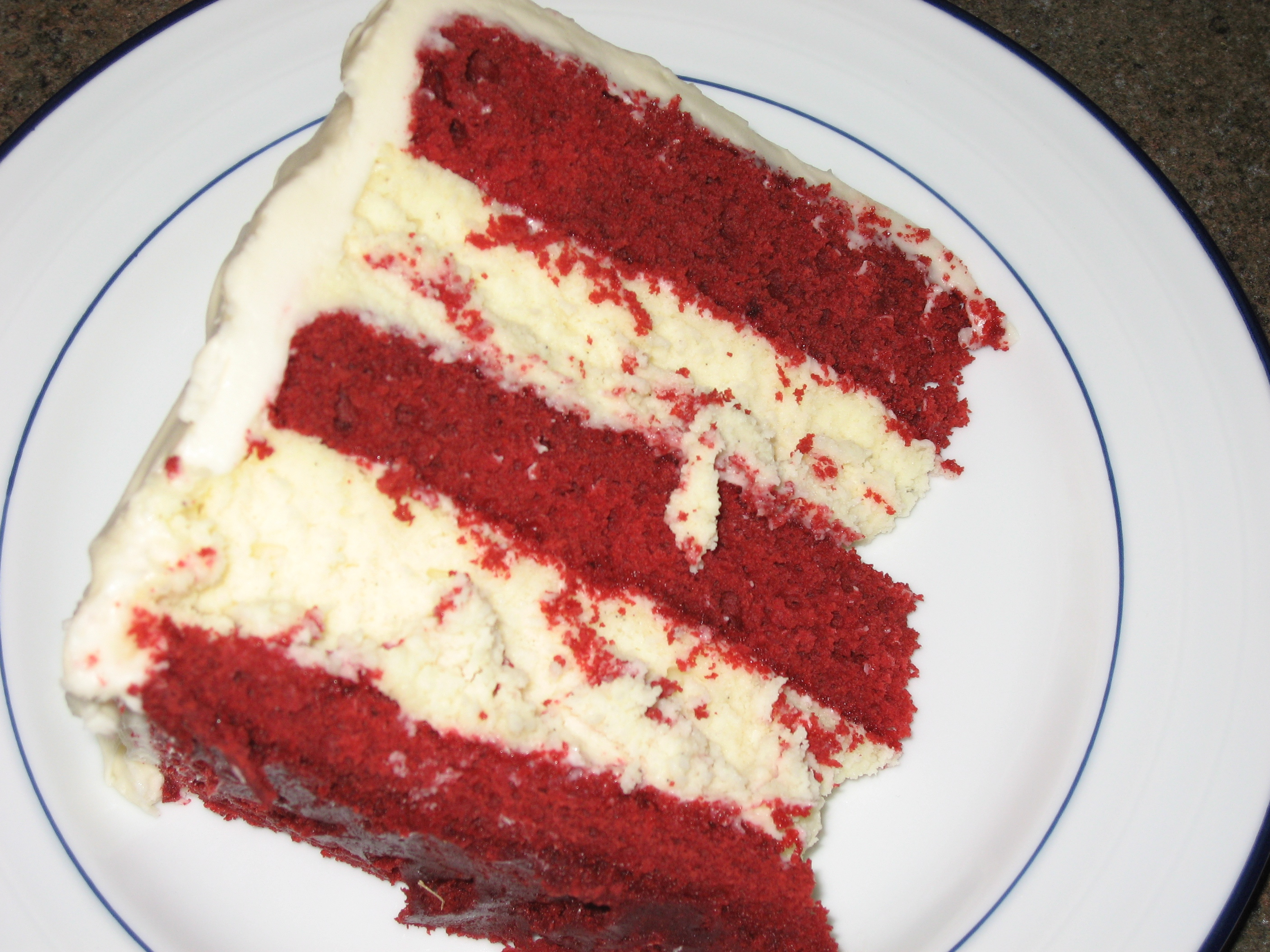 Red Velvet Cheesecake Layer Cake It All Started With Mac ...