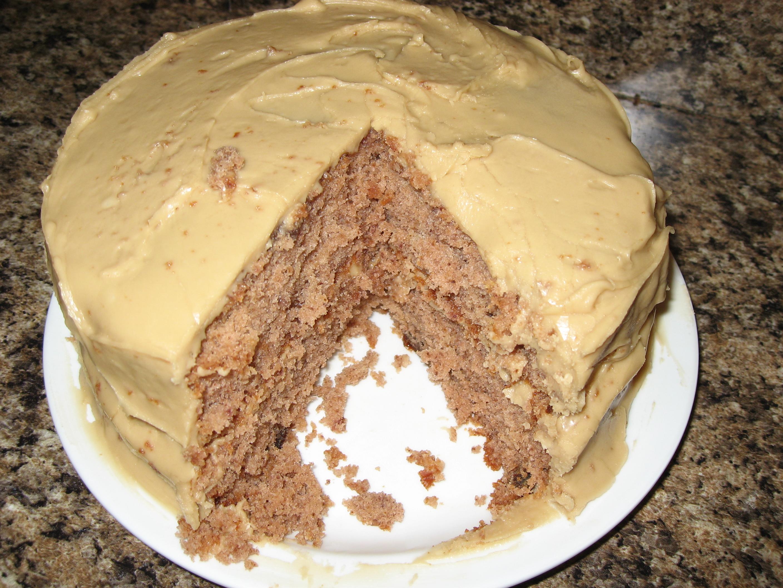 Jam Cake Recipes With Caramel Icing